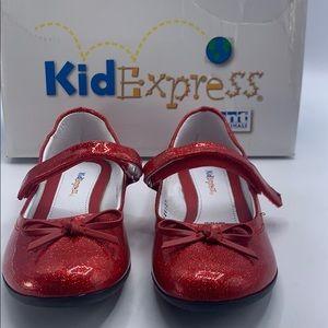 Kid express girls red size 2